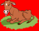 online sliding puzzle of the cow