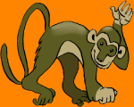 online sliding puzzle of the monkey